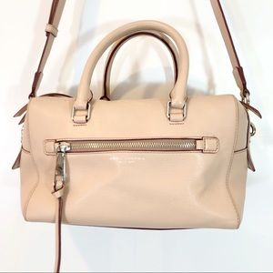MARC JACOBS BLUSH PINK BAULETTO TOTE BAG